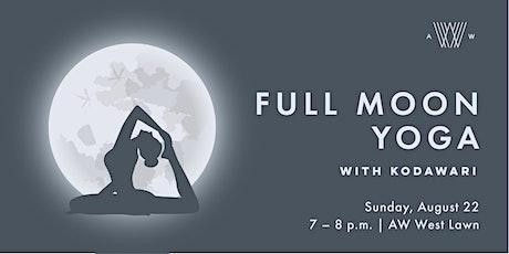Full Moon Yoga - September 20th tickets