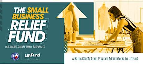 Webinar: Harris County Relief Grants tickets