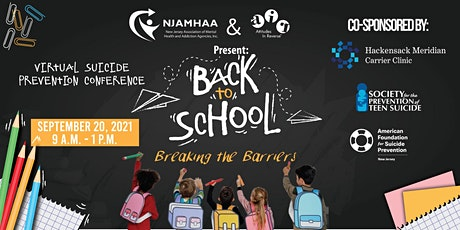 Suicide Prevention Conference: Back to School - Breaking the Barriers tickets