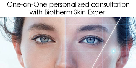 One-on-One personalized consultation with Biotherm Skin Expert (USA) biglietti