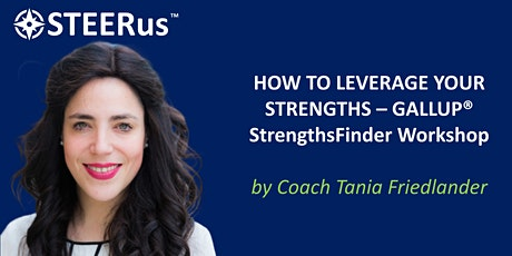 Leverage Your Strengths - A Gallup Strengths Workshop tickets