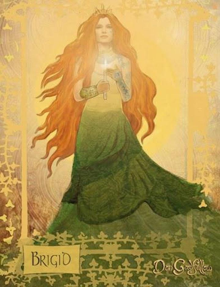 Grounding Meditation with Goddess Bridget image