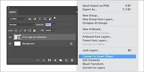 "Working ""Smart"" in Photoshop tickets"