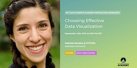 Choosing Effective Data Visualization tickets