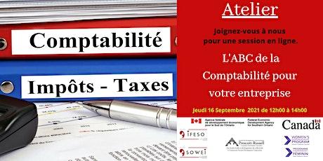 L'ABC de la comptabilité pour votre entreprise. billets
