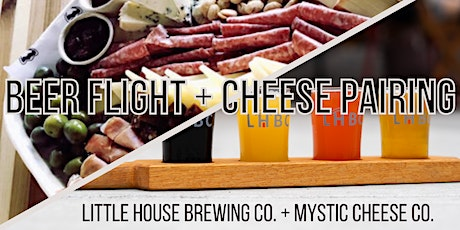 Beer Flight & Cheese Pairing w/ Mystic Cheese Co. tickets