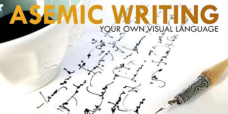 Asemic Writing with Gloria Gelo tickets
