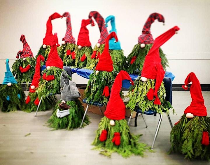 Winter Porch Gnome Workshop image