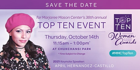 Marjaree Mason Center's 38th Top Ten Professional Women and Business Awards tickets