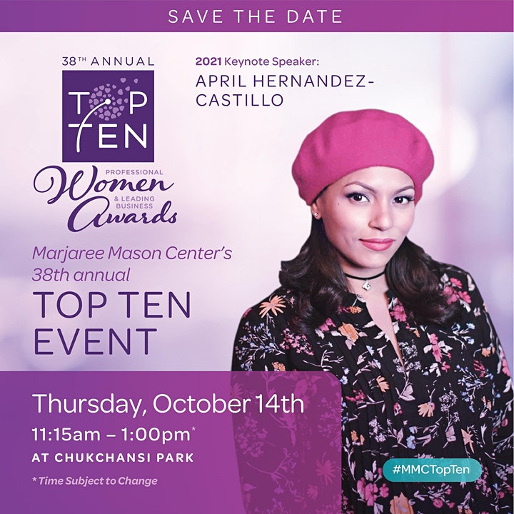 Marjaree Mason Center's 38th Top Ten Professional Women and Business Awards image
