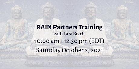 RAIN Partners Training - with Tara Brach tickets