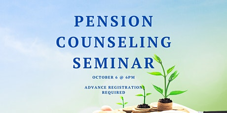 Pension Counseling Seminiar tickets