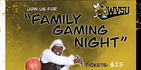 """Dondre Williams Family-Invitation Scholarship  """"Family Gaming Night """" tickets"""