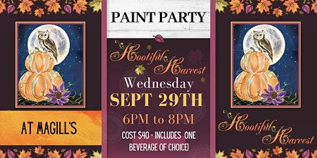 Hootiful Harvest Family-Friendly Paint Night! tickets
