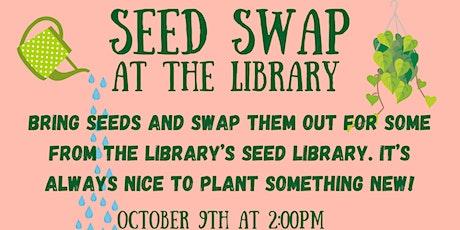 Seed Swap (NEA Big Read: Nacogdoches) tickets