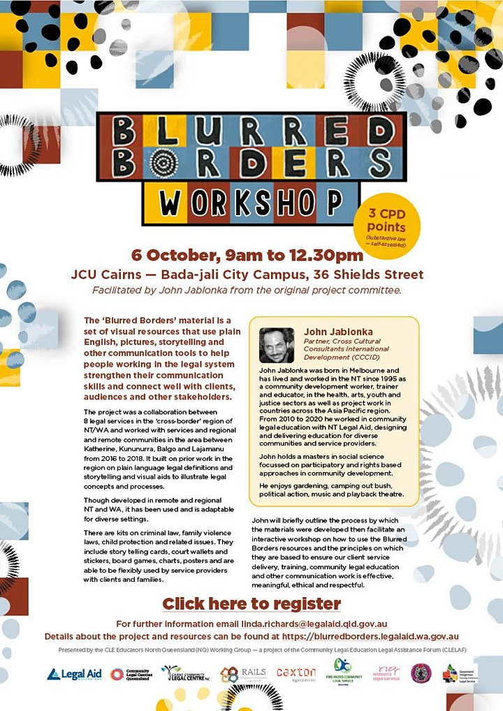 Blurred Borders Workshop image