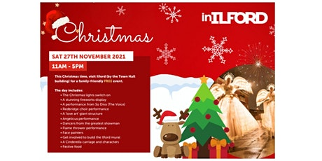 Ilford Christmas Light Switch on Event tickets