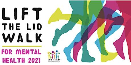 LIFT THE LID WALK for Mental Health - Kippa Ring-North Lakes & Pine Rivers tickets
