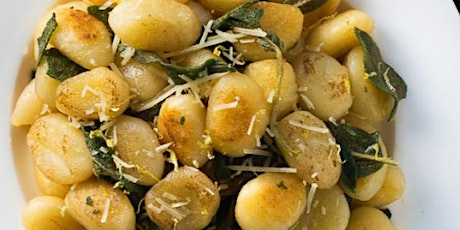 Autumn Inspired Ricotta Gnocchi  with Pear, Plum, and Apple  Crisp tickets