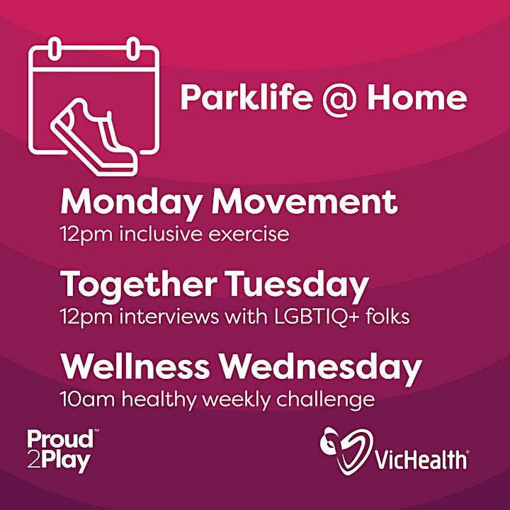 Parklife @ Home: Together Tuesday image