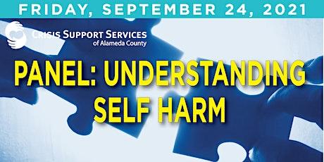 Panel: Understanding Self Harm tickets