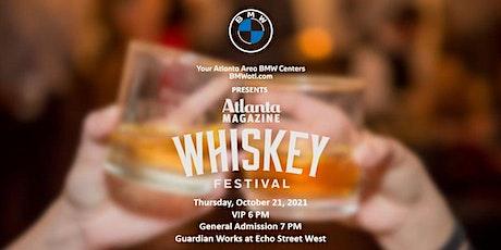 Your Atlanta Area BMW Centers present Atlanta Magazine's 6th Annual Whiskey tickets