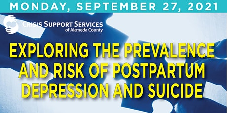Exploring the Prevalence and Risk of Postpartum Depression and Suicide tickets