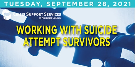 Working with Suicide Attempt Survivors tickets