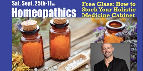 Homeopathics: Free Class Learn More tickets