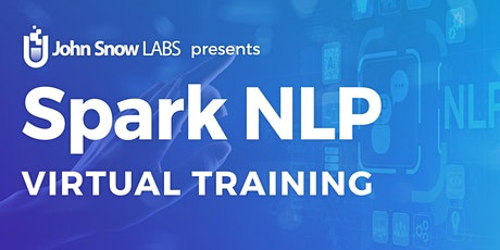 Spark NLP for Data Scientists - Training & Certification tickets