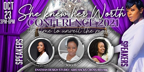 She Knew Her Worth Conference 2021 tickets