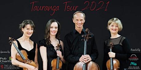 FREE New Zealand String Quartet 'Tauranga Tour' 2021 (School Concert) tickets