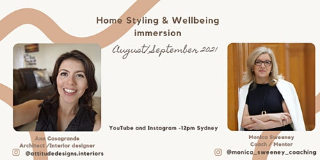 Home Styling & Wellbeing tickets