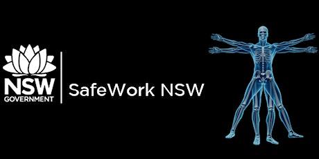 test  SafeWork NSW - Manual Handling Safety @ Work tickets