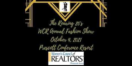 WCR Prescott Area Presents Annual Fashion Show: The Roaring 20's tickets