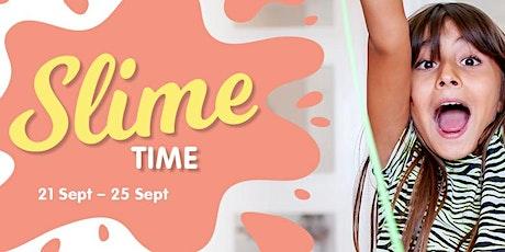 Slime Time School Holiday Fun at Arana Hills Plaza tickets