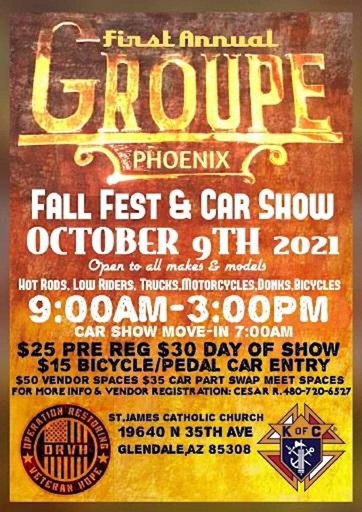 Fall Fest & Car Show image