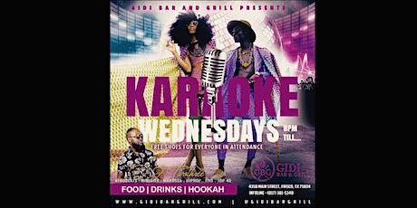 Karaoke Wednesdays tickets