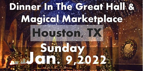 HOUSTON, TX: A Wizards Christmas Dinner & Marketplace SUNDAY tickets