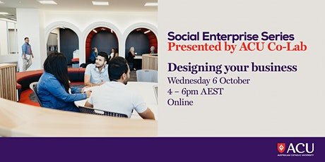 Social Enterprise Series - Designing your business tickets