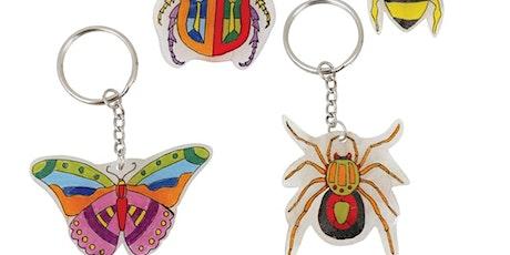 Mini Beast Shrinky Dink Key Ring Kit tickets