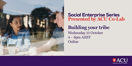 Social Enterprise Series - Building your tribe tickets