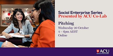 Social Enterprise Series - Pitching tickets