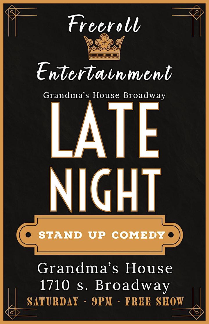 Late Night Comedy Night @ Grandma's House image