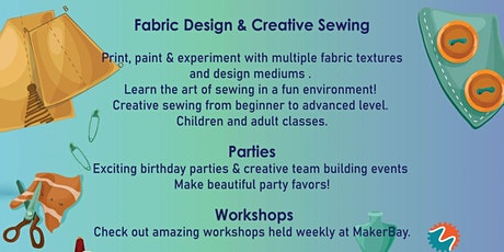 Fabric Art Sewing Workshop tickets