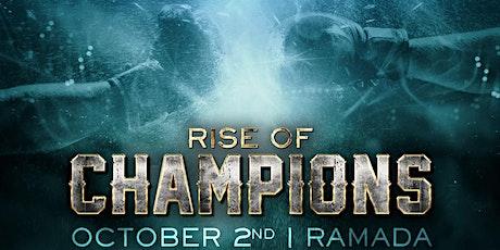 RISE OF CHAMPIONS - Championship Kickboxing tickets