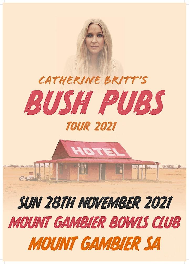 Catherine Britt's Bush Pubs Tour 2021 is Postponed image