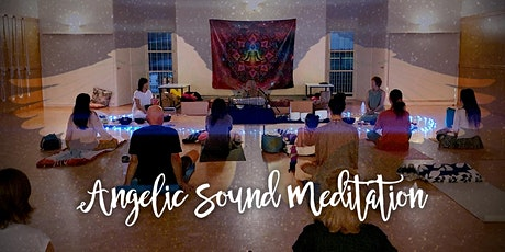 Angelic Sound Meditation with Singing Ring- Chakra cleansing and healing tickets