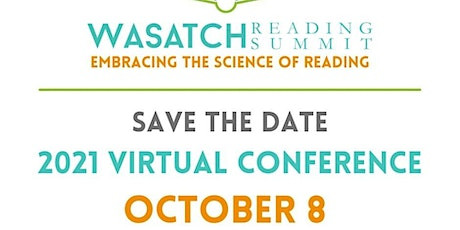 Wasatch Reading Summit Sponsors Fall 2021 tickets