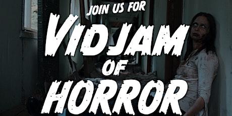 Vidjam of Horror 2021 tickets